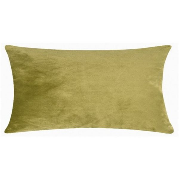 SMOOTH light green 25x50 cm Cushion Cover