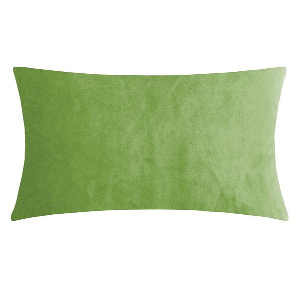 SMOOTH rich green 25x50 Cushion Cover