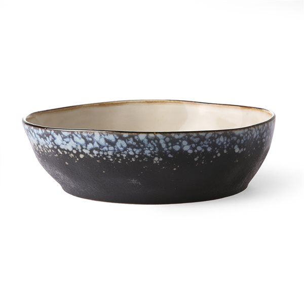 PASTA BOWL galaxy 70's Ceramic
