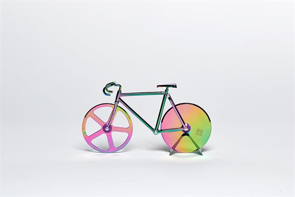FIXIE iridescent Pizza Cutter