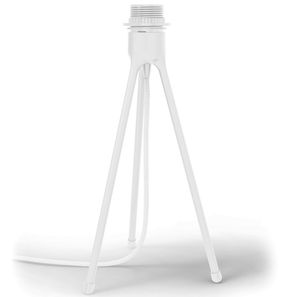 TRIPOD TABLE matt white Gestell
