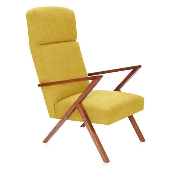 RETROSTAR Lounge-Sessel Basic gelb