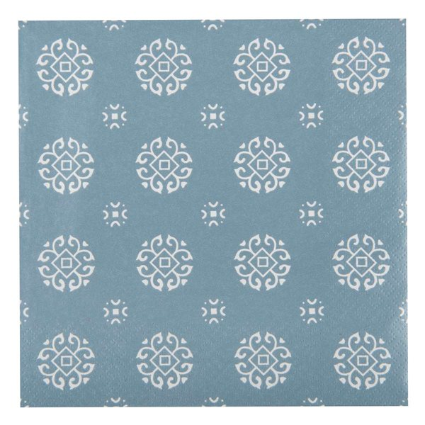 Serviette dusty blue