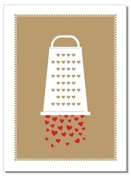 GRATEFUL HEARTS Tea Towel