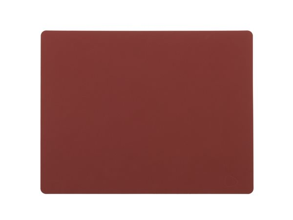 SQUARE L red Tablemat 37x44cm