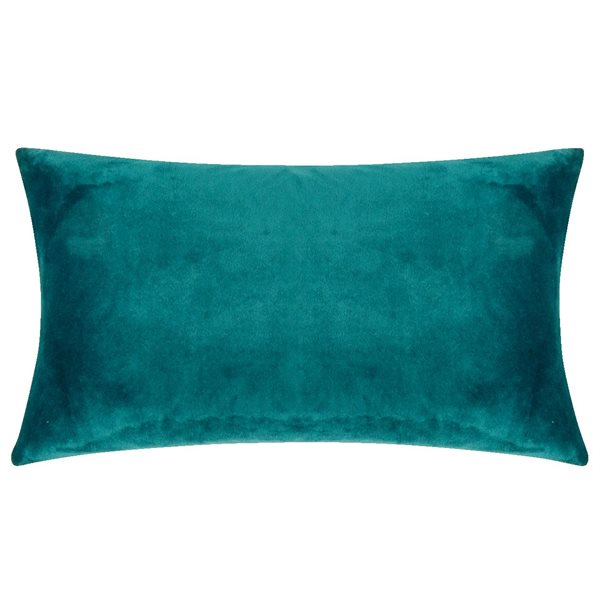 SMOOTH petrol 25x50 Cushion Cover