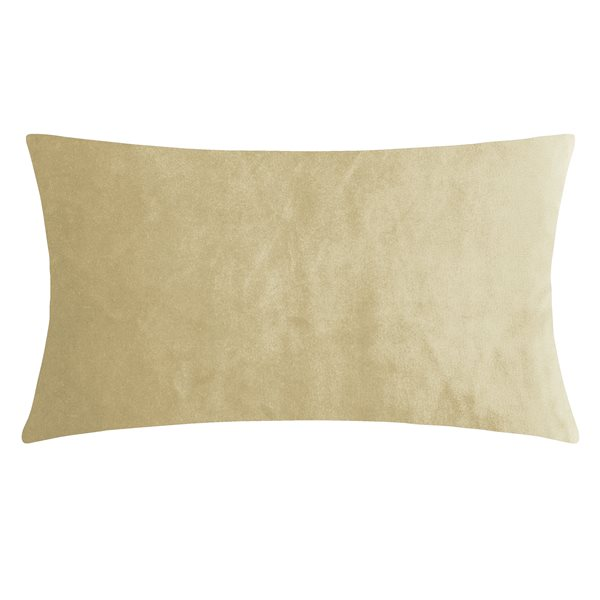SMOOTH natural 25x50 Cushion Cover