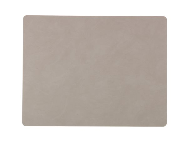 SQUARE L light grey Tablemat 37x44cm