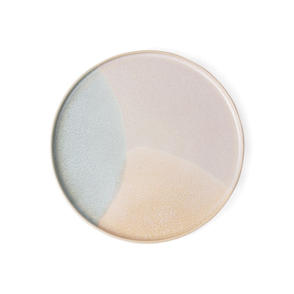 ROUND SIDE PLATE mint/nude Ø 18,5cm Gallery