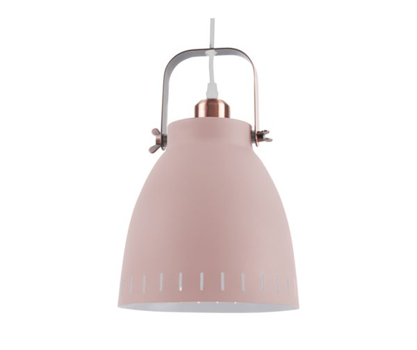MINGLE dusty pink Pendelleuchte Metall L