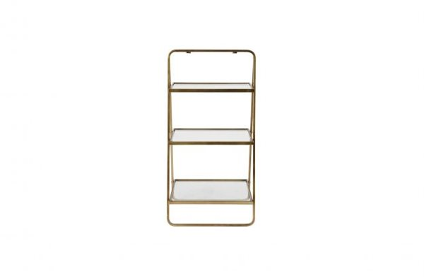 GODDESS Etagere antique brass