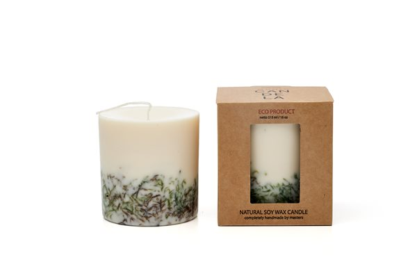 MOSS naturella soy wax candle 515 ml