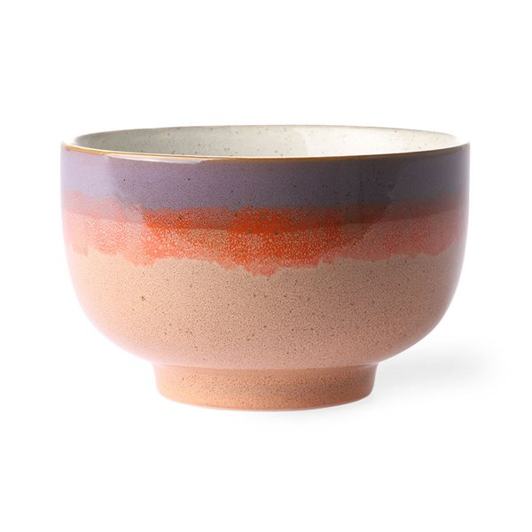 CERAMIC bowl Sunset 70's