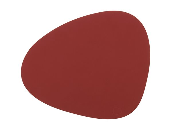 CURVE L red Tablemat 37x44cm