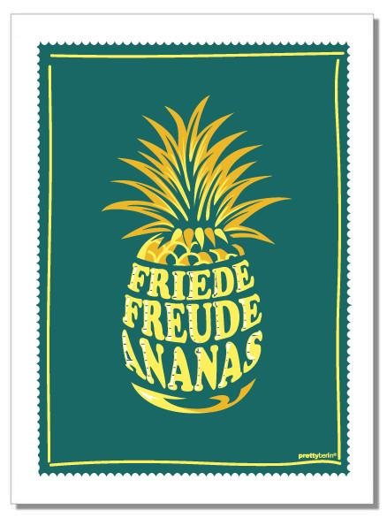 ANANAS Tea Towel