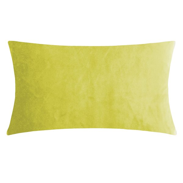 SMOOTH mustard 25x50 Cushion Cover