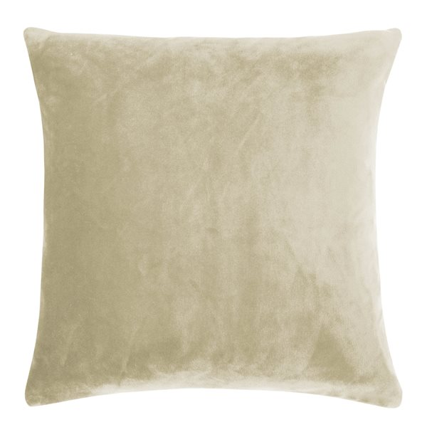 SMOOTH natural 40x40 Cushion Cover