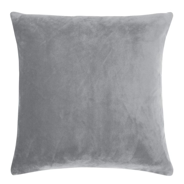 SMOOTH light grey 50x50 Cushion Cover