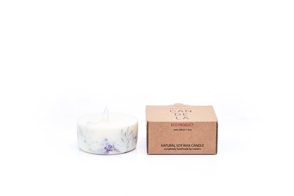 JUNIPER/LIMONIUM naturella soy wax candle 220 ml