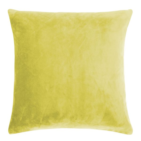 SMOOTH mustard 40x40 Cushion Cover