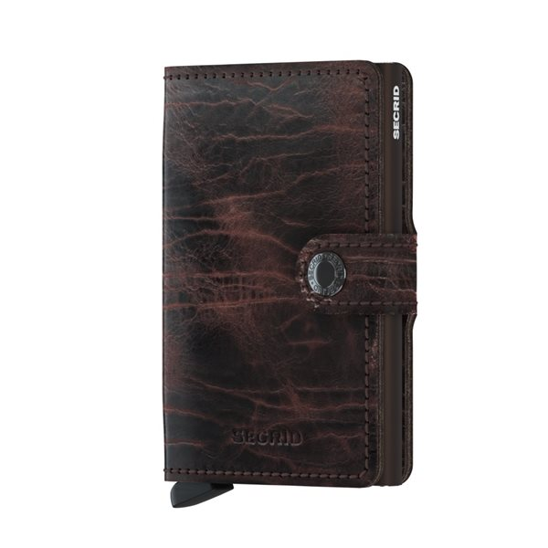 M-DUTCH MARTIN Cacao Brown Miniwallet