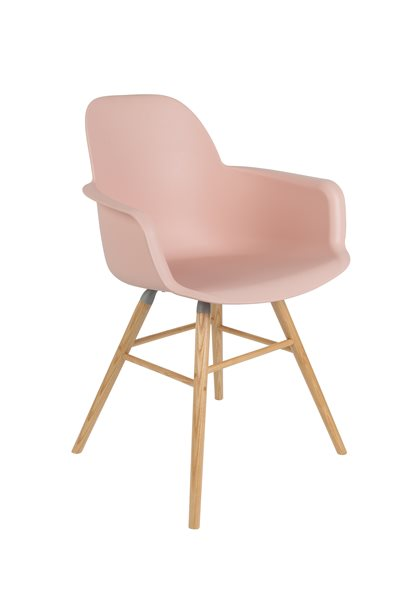ALBERT old pink Armchair