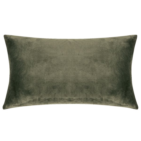 SMOOTH olive 25x50 Cushion Cover