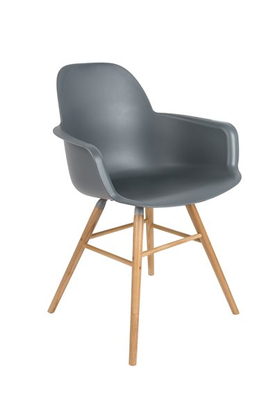 ALBERT dark grey Armchair
