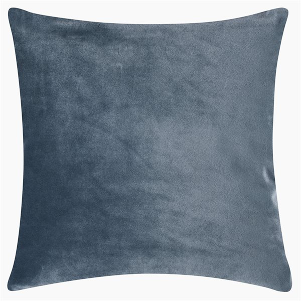 SMOOTH dusty blue 40x40 Cushion Cover