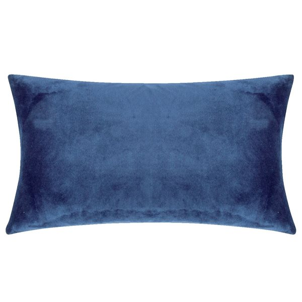 SMOOTH blue 25x50 Cushion Cover