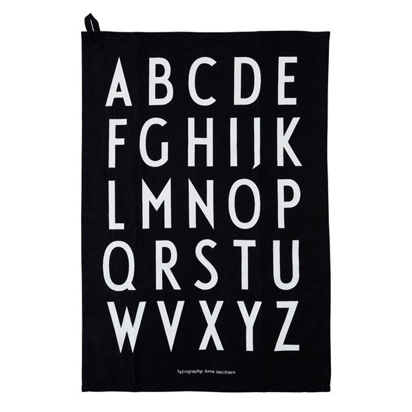 CLASSIC Tea Towel 2er Set Design Letters