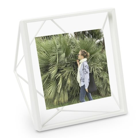 PRISMA white 10 x 10 cm Photo Display