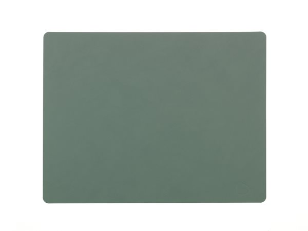 SQUARE L pastel green Tablemat 37x44cm