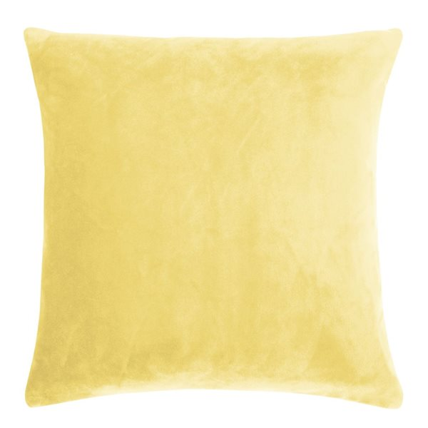 SMOOTH yellow 50x50 Cushion Cover