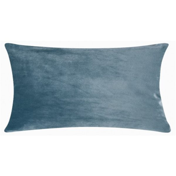 SMOOTH dusty blue 25x50 cm Cushion Cover