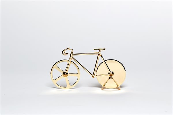 FIXIE gold Pizza Cutter