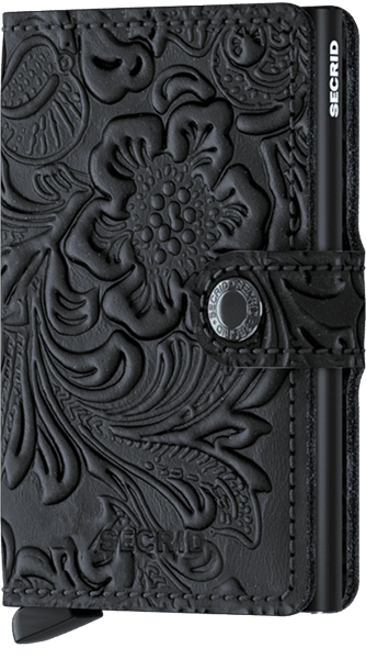 ORNAMENT BLACK Miniwallet